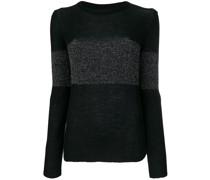 'Vivien' Wollpullover mit Lurex-Streifen