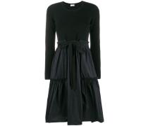 A-Line Bow Tie Midi Dress
