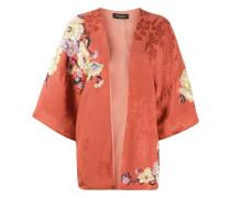 Kimono mit Blumendetails