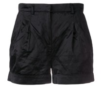 Shorts aus Satin