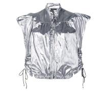 Jacke im Metallic-Look
