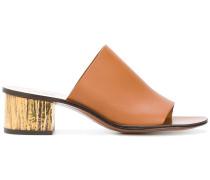 low block heel mules