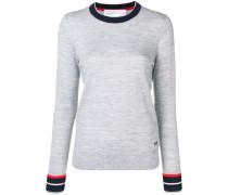 Pullover mit kontrastierenden Bündchen