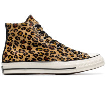 Leopard print  Chuck Taylor 70's high-top sneakers