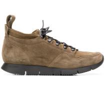 Sneakers aus Wildleder und Leder