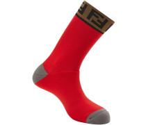 Socken mit FF-Logo
