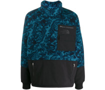 Oversized-Pullover mit Kontrasteinsatz