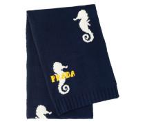Schal mit Seepferdchen