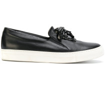 Slip-On-Sneakers mit Medusa
