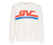 Sweatshirt mit Motocross-Print