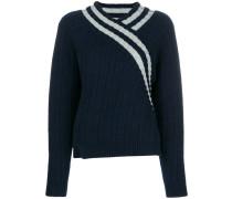 Pullover mit Wickeldetail