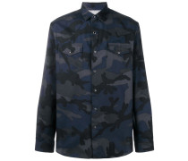 Hemd im Camouflage-Look