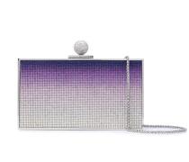 crystal gradient box clutch