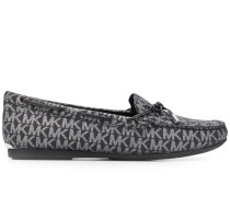 Loafer mit Logo-Muster