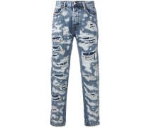 M-harky destroyed slim-fit jeans