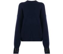 Pullover mit verzierten Bündchen