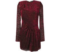 dotted sheer mini dress