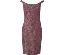 'Mila' Jacquard-Kleid