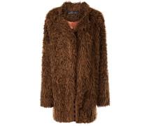 'Socialite' Faux-Fur-Mantel