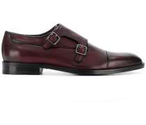 leather buckle brogues
