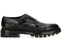 Monk-Schuhe mit geriffelter Sohle
