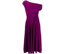 Ausgestelltes One-Shoulder-Kleid