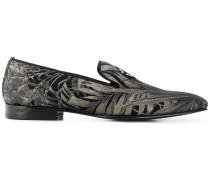 Loafer mit Palmen-Print