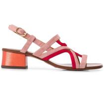Sandalen mit Farbkontrast