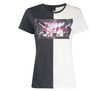 T-Shirt mit Konzert-Print