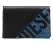 Portemonnaie mit Logo-Print