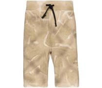 Jersey-Shorts mit Print