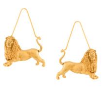 Ohrringe mit Löwenmotiv