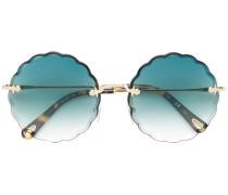 Brille mit Wellenkanten
