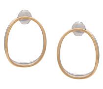Ohrring aus 14kt Gold und Silber