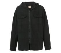 hooded flannel jacket