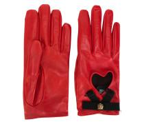 Handschuhe mit Pantherkopf
