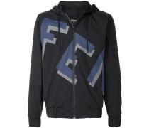 logo zipped jacket