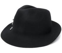 crystal embellished hat