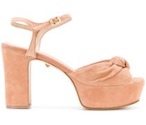 slingback knot sandals