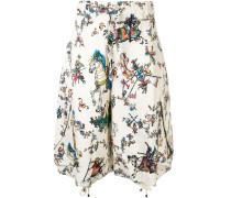 Shorts mit Ritter-Print