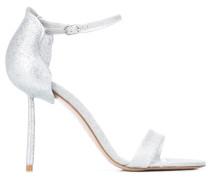 Stiletto-Sandalen im Glitter-Look