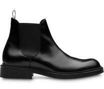 Chelsea-Boots aus gebürstetem Leder
