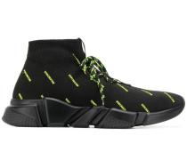 'Speed' Sneakers mit Neon-Logos