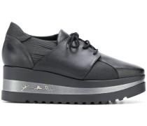lace-up platform shoes