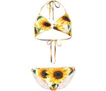 Bikini mit Sonnenblumen