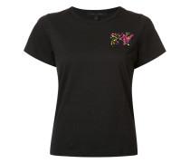 x MTV T-Shirt mit Stickerei