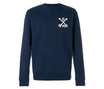 "Sweatshirt mit ""Deus""-Print"