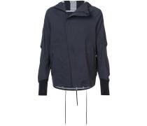thumb cuff zipped jacket