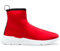 High-Top-Sneakers mit Lasche