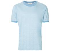 Gewelltes Jacquard-T-Shirt